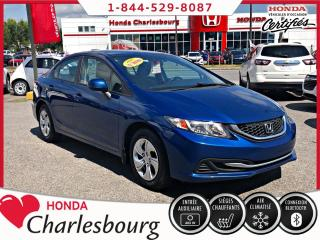 Used 2013 Honda Civic LX**AUTOMATIQUE**UN PROPRIÉTAIRE** for sale in Charlesbourg, QC