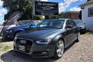 Used 2013 Audi A4 Premium S-LINE MANUAL QUATTRO NAVI SUNROOF for sale in Mississauga, ON