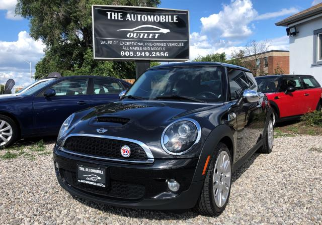 2010 MINI Cooper S S CAMDEN EDITION MANUAL SUNROOF LEATHER