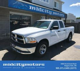 Used 2012 RAM 1500 ST/4x4/Quad Cab/No accidents for sale in Niagara Falls, ON