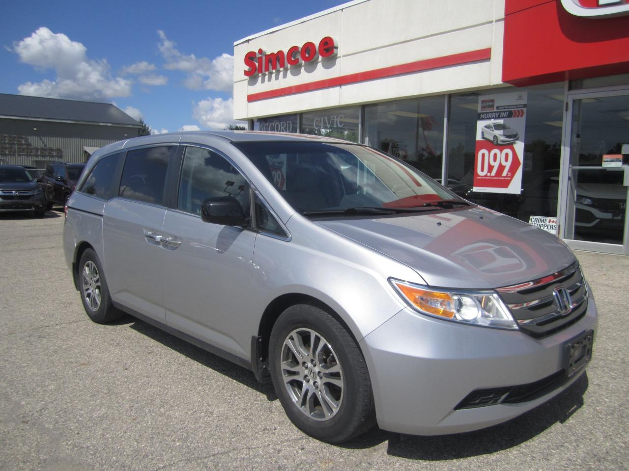 Used 2013 Honda Odyssey EX for Sale in Simcoe, Ontario | Carpages ca