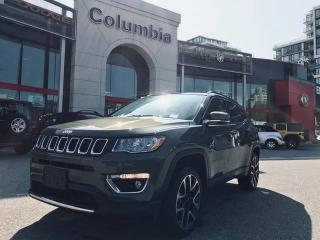 Used 2018 Jeep Compass LIMITED- NO ACCIDENT/ LOCAL/ NAV/ LEATHER/ PANO SUNROOF for sale in Richmond, BC