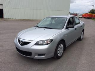 Used 2007 Mazda MAZDA3 Berline 4 portes, boîte automatique, GX for sale in Quebec, QC