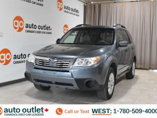 Used 2010 Subaru Forester 2.5L x sport, Heated seats, Cloth seats for sale in Edmonton, AB