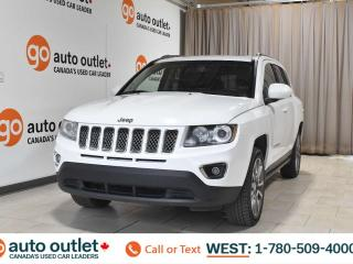 Used 2014 Jeep Compass Limited, 4wd, 2.4L I4, Navigation, Heated leather seats, Sunroof, Bluetooth for sale in Edmonton, AB