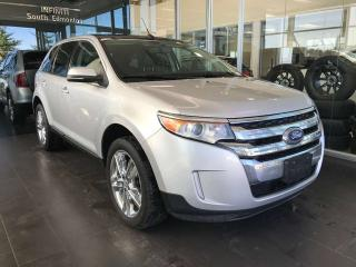 Used 2014 Ford Edge LIMITED AWD, ACCIDENT FREE, KEYLESS IGNITION, NAVI, POWER HEATED LEATEHR SEATS for sale in Edmonton, AB