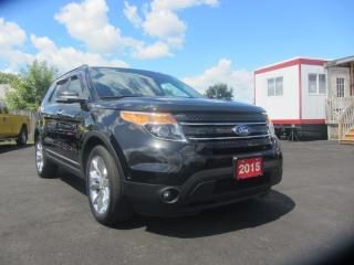 Used 2015 Ford Explorer LIMITED for sale in Hamilton, ON