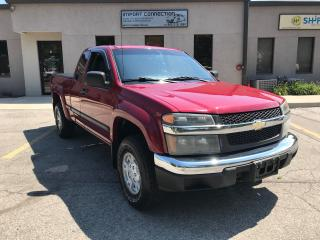 Used 2006 Chevrolet Colorado Ext Cab 125.9  WB LS Z71 , CERTIFIED ! for sale in Burlington, ON