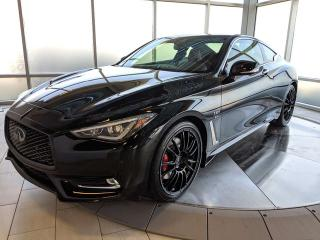 New 2019 Infiniti Q60 I-LINE RED SPORT 2dr AWD Coupe for sale in Edmonton, AB