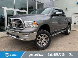 Used 2012 RAM 1500 SLT BIG HORN CREW 4X4 JACKED GREAT CONDITION for sale in Edmonton, AB