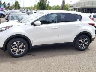 Used 2020 Kia Sportage LX AWD; ADVANCED SAFTEY, BLUETOOTH, BACKUP CAM, HEATED SEATS AND MORE! for sale in Edmonton, AB