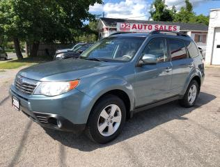 Used 2009 Subaru Forester AWD/Clean CarFax/Comes Certified/PanoRoof for sale in Scarborough, ON