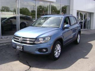 Used 2017 Volkswagen Tiguan Wolfsburg Edition 4dr AWD 4MOTION for sale in Cornwall, ON
