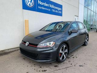 Used 2017 Volkswagen Golf GTI Autobahn - LEATHER PACKAGE! for sale in Edmonton, AB