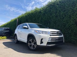 Used 2018 Toyota Highlander LE AWD + 8 PASSENGER + NO EXTRA DEALER FEES for sale in Surrey, BC
