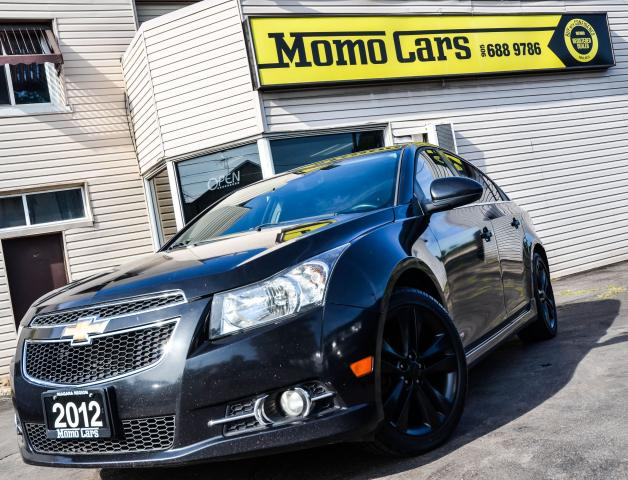 2012 Chevrolet Cruze SUNROOF! TURBO RS! MANUAL! BLUETOOTH!