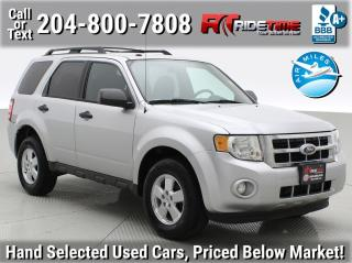 Used 2012 Ford Escape XLT for sale in Winnipeg, MB
