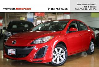Used 2011 Mazda MAZDA3 GX - ONE OWNER|CRUISE CONTROL|ALLOYS|2xRIM&TIRES for sale in North York, ON