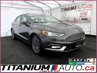 Used 2017 Ford Fusion SE 2.0T+GPS+Camera+Blind Spot+Lane Keep+Leather+XM for sale in London, ON