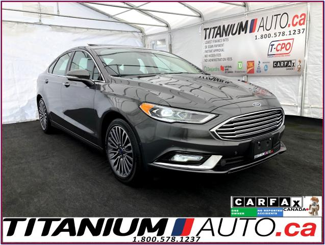 2017 Ford Fusion SE 2.0T+GPS+Camera+Blind Spot+Lane Keep+Leather+XM