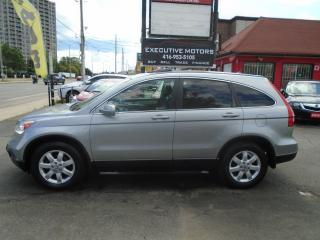 Used 2007 Honda CR-V EX-L / AWD / LEATHER / ROOF/ ALLOYS/ CLEAN/ for sale in Scarborough, ON