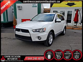 Used 2013 Mitsubishi Outlander AWC/4X4  BALANCE GARANTIE 10 ANS 160 000 for sale in Blainville, QC