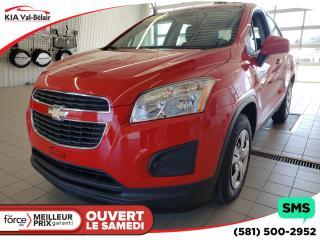 Used 2015 Chevrolet Trax *LS* VITRES ÉLECTRIQUES* BLUETOOTH* for sale in Québec, QC