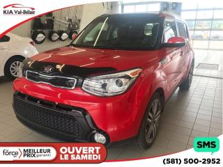 Used 2016 Kia Soul SX LUXE* CUIR* TOIT* AIR* for sale in Québec, QC