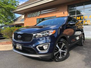 Used 2016 Kia Sorento EX 7 Passenger Panoramic Remote Starter Certified* for sale in Concord, ON