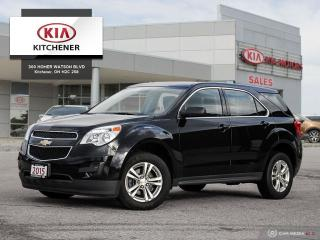 Used 2015 Chevrolet Equinox FWD LS - CARFAX CLEAN! for sale in Kitchener, ON