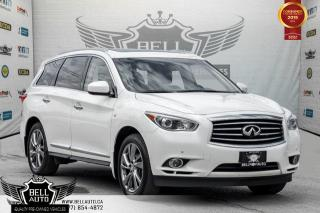 Used 2015 Infiniti QX60 AWD, NO ACCIDENT, 7 PASS, NAVI, 360 CAM, SUNROOF for sale in Toronto, ON