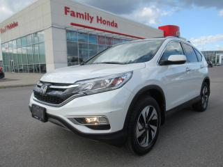 Used 2016 Honda CR-V Touring, FULLY LOADED! for sale in Brampton, ON