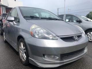 Used 2007 Honda Fit Hayon 5 portes, boîte manuelle, Sport for sale in Drummondville, QC