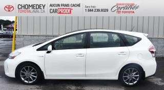 Used 2017 Toyota Prius V TECHNOLOGIE, GROUPE LUXE for sale in Laval, QC
