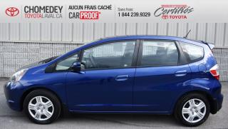 Used 2013 Honda Fit LX ** PARFAITE CONDITION ** for sale in Laval, QC
