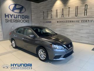 Used 2016 Nissan Sentra SV+CAMERA+TOIT+BANCS CHAUFFANTS for sale in Sherbrooke, QC