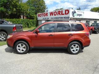 Used 2011 Subaru Forester X Convenience for sale in Scarborough, ON