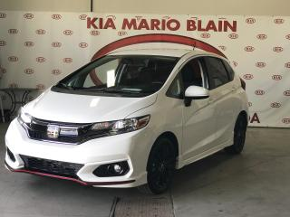 Used 2018 Honda Fit Sport WOW * MAGS NOIR * CAMERA * COMME NEUF for sale in Ste-Julie, QC