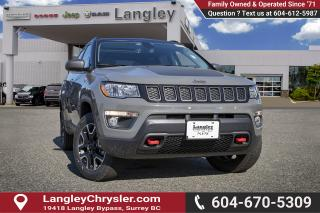 Used 2019 Jeep Compass Trailhawk - Leather Seats for sale in Surrey, BC