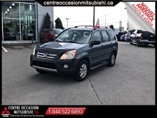 Used 2006 Honda CR-V AWD SE A/C for sale in St-Jérôme, QC