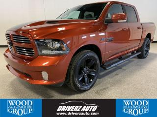 Used 2017 RAM 1500 Sport CLEAN CARFAX, REMOTE START, HEMI W/8 SPEED for sale in Calgary, AB