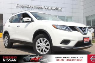 Used 2014 Nissan Rogue One owner accident free trade,only 51000 kms. Nissan certified preowned! for sale in Toronto, ON