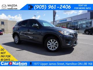 Used 2016 Mazda CX-5 GX | AUX INPUT | BLUETOOTH | ALLOYS for sale in Hamilton, ON
