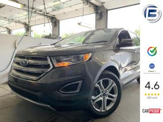 Used 2016 Ford Edge TITANIUM   CUIR   GPS   CAMÉRA for sale in St-Hyacinthe, QC