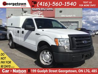 Used 2012 Ford F-150 XL | CUSTOM STORAGE CAP | 3.7L V6 | for sale in Georgetown, ON