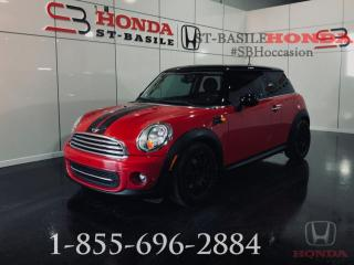 Used 2012 MINI Cooper Coupé 2 portes Classic for sale in St-Basile-le-Grand, QC
