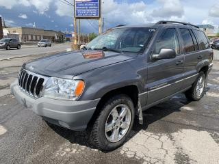 Used 2002 Jeep Grand Cherokee Laredo 4 portes, quatre roues motrices for sale in Montréal-Nord, QC