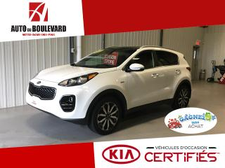 Used 2017 Kia Sportage EX PREMIUM AWD TOIT PANO CUIR CHOCOLAT for sale in Notre-Dame-des-Pins, QC