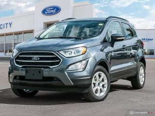 Used 2019 Ford EcoSport SE for sale in Winnipeg, MB