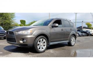 Used 2010 Mitsubishi Outlander 4WD 7 PASSAGERS 49$/SEM for sale in St-Jérôme, QC